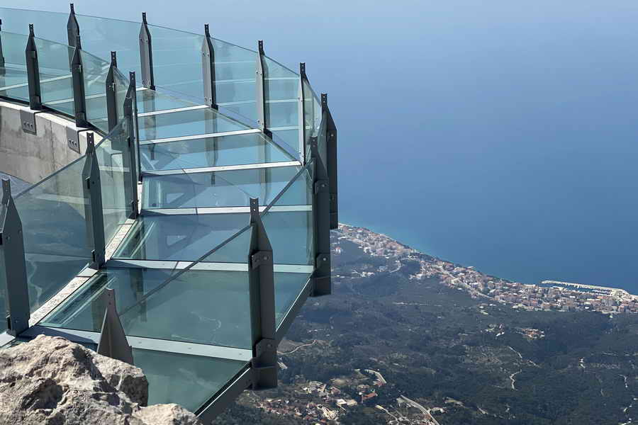 Biokovo skywalk