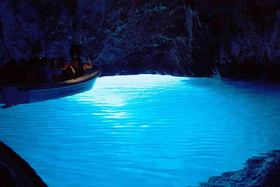 Blue cave tour Trogir-Split